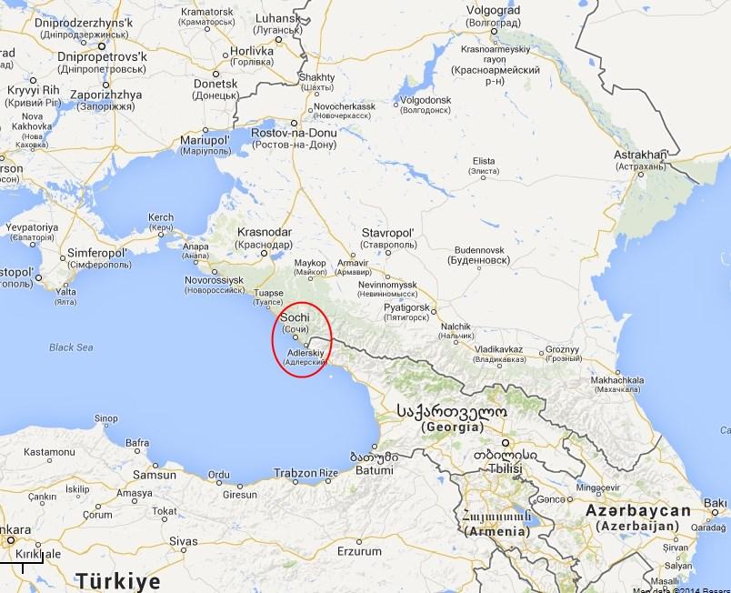 Sochi Russia Cartina.Ufoforum It Leggi Argomento I Passi Che Condurranno Alla Terza Guerra Mondiale